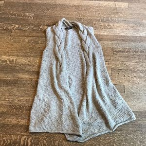 Adrienne Vittadini crochet sweater vest